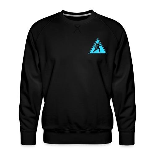 Running Man and Woman - Men's Premium Sweatshirt