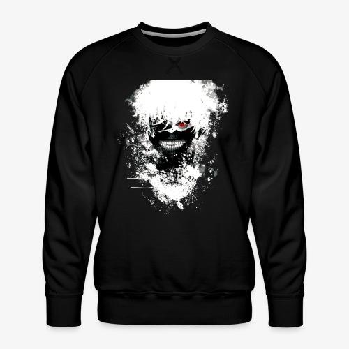 Kaneki Eye Patch - Men's Premium Sweatshirt