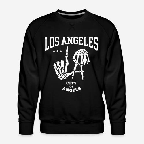 Los Angeles la Stadt der Engel - Männer Premium Pullover