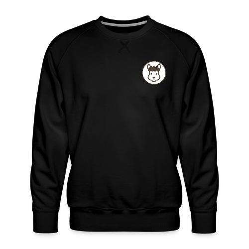 Llamalicious Logo - Herre premium sweatshirt