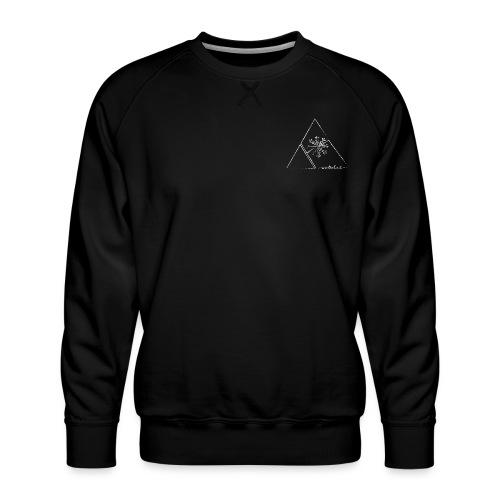 winterkind mandalasnowflake - Männer Premium Pullover