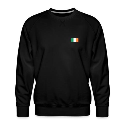 Bandera de Irlanda - Sudadera premium para hombre