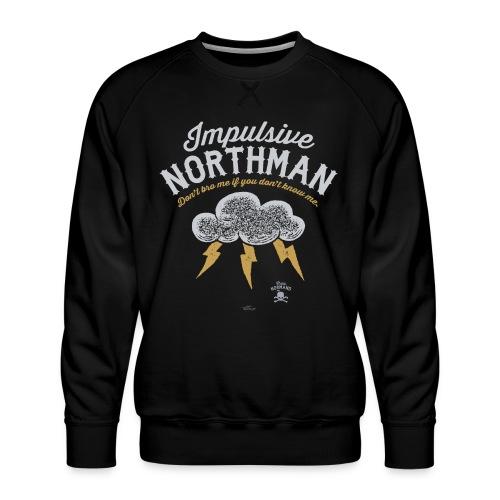 Impulsive Northman - Herre premium sweatshirt