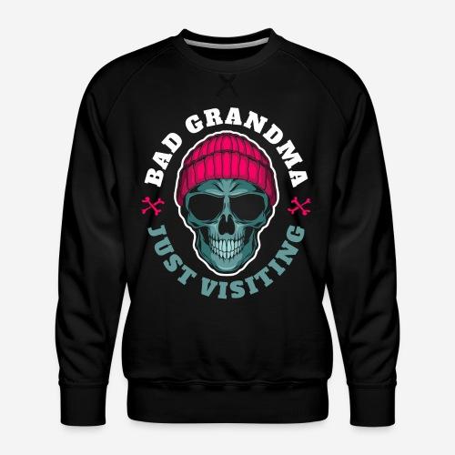 bad oma Großmutter - Männer Premium Pullover