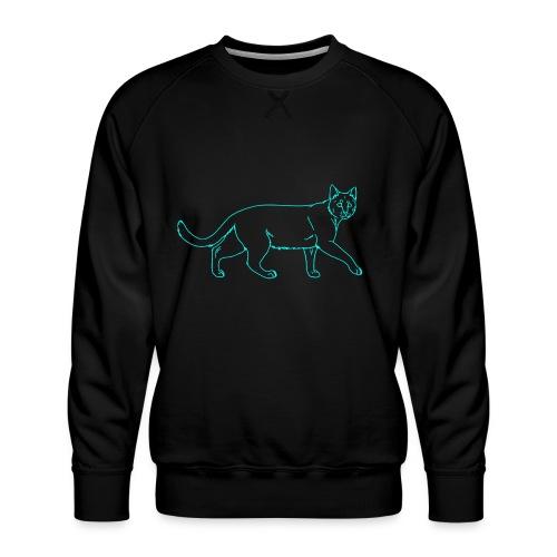 cat - Men's Premium Sweatshirt