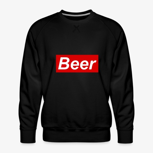 Beer. Red limited edition - Mannen premium sweater