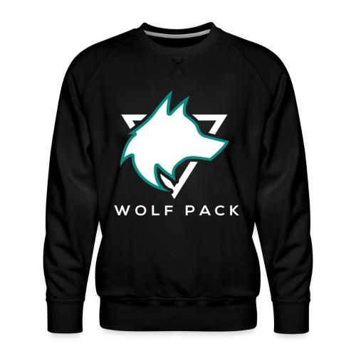 Wolf Pack Logo (NEW) - Men's Premium Sweatshirt