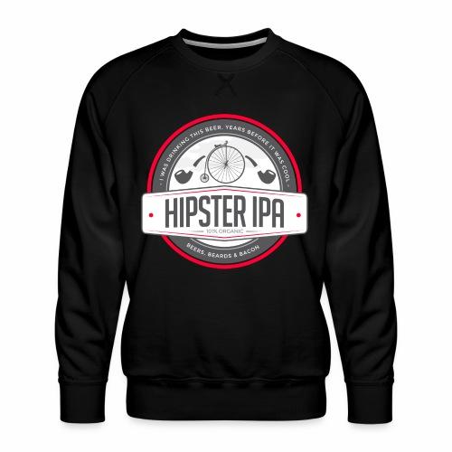 Hipster IPA - Men's Premium Sweatshirt
