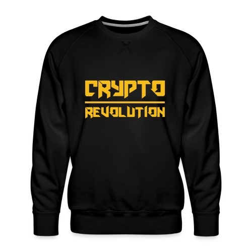 Crypto Revolution III - Men's Premium Sweatshirt