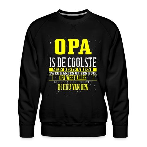 opa is de coolste - Mannen premium sweater