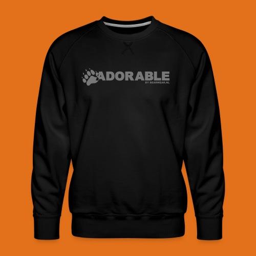 adorable - Men's Premium Sweatshirt