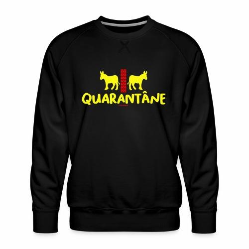 Quarantane - Mannen premium sweater