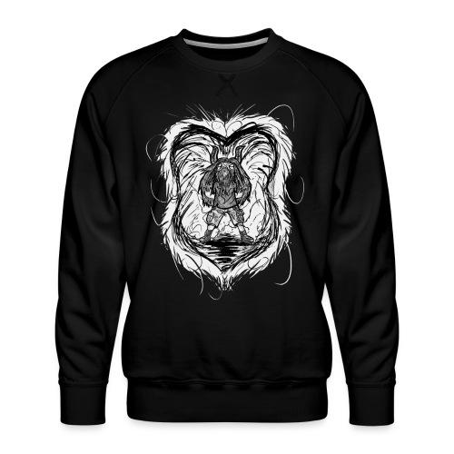 Horned Metalhead - Men's Premium Sweatshirt