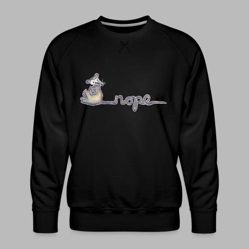 Nope - Men's Premium Sweatshirt