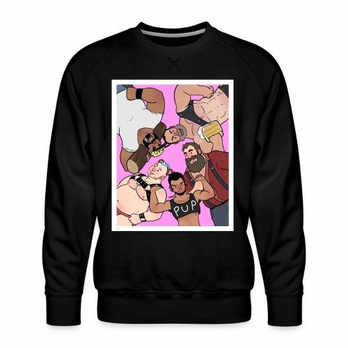 Bear Pile - Men's Premium Sweatshirt