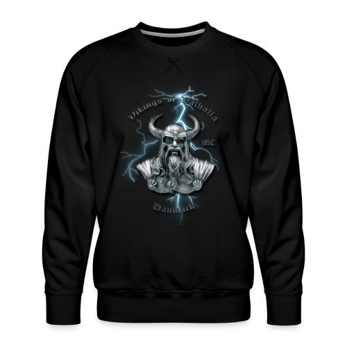 Fuld ryg lyn png - Herre premium sweatshirt
