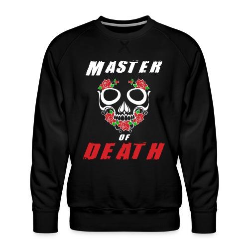 Master of death - white - Bluza męska Premium