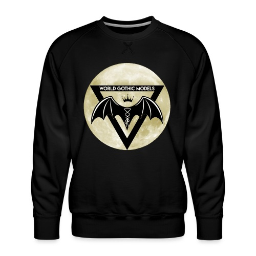 WGM Logo + Different is Beautiful | 2 Sided Design - Men's Premium Sweatshirt