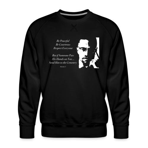 Malcolm X [#1] - Men's Premium Sweatshirt
