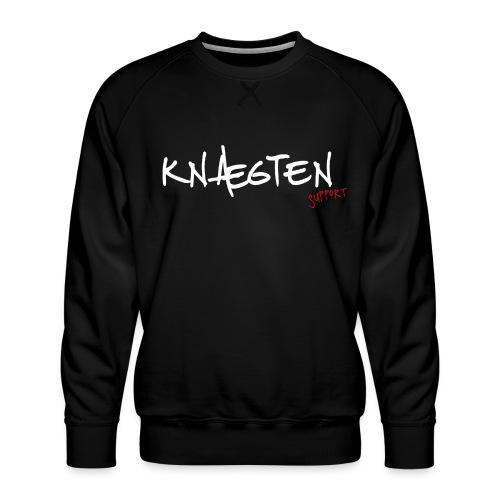 Knægten Support - Galaxy Music Lab - Herre premium sweatshirt