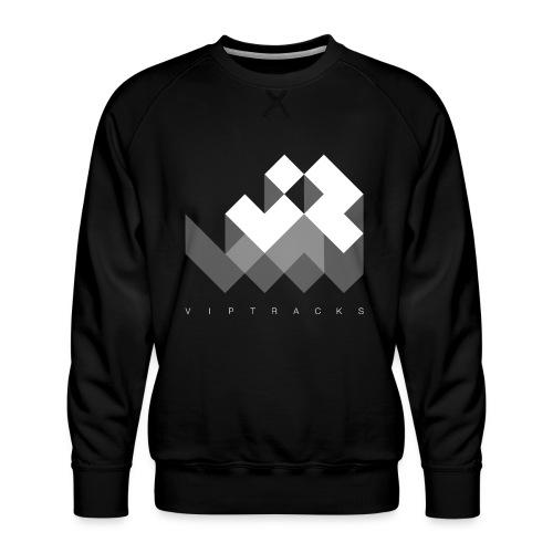 LOGO VIPTRACKS RELEASES - Mannen premium sweater