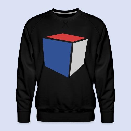 Cube Minimaliste - Sweat ras-du-cou Premium Homme