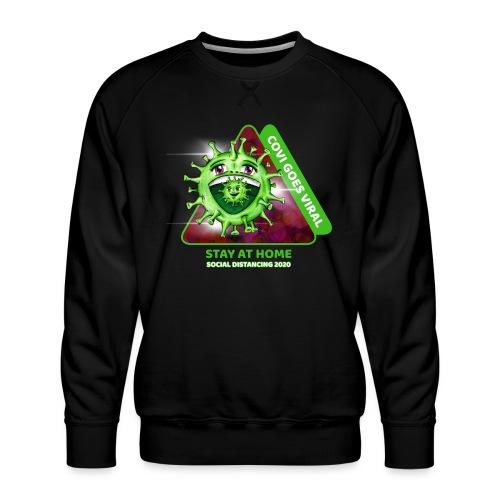 Covi goes Viral - Männer Premium Pullover
