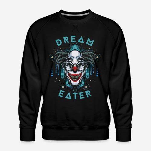 clown dream catcher - Männer Premium Pullover