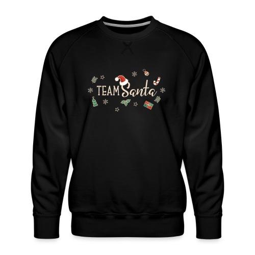 Team Santa Outfit für Familien Weihnachtsoutfit - Männer Premium Pullover