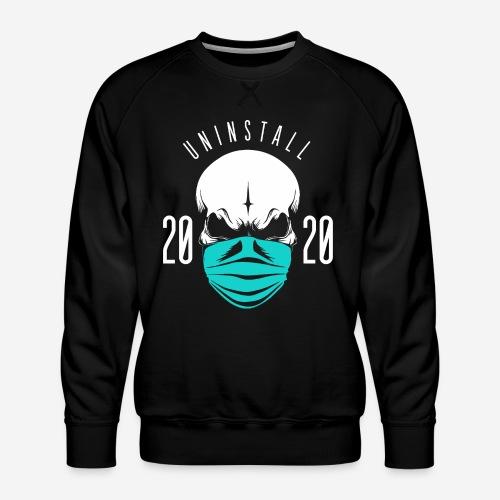 2020 deinstallieren - Männer Premium Pullover