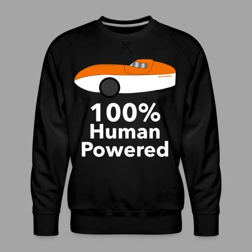 Human Powered WAW - Miesten premium-collegepaita