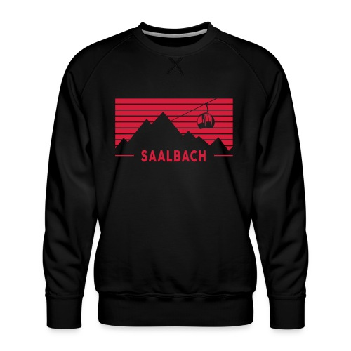 Saalbach Stripes - Mannen premium sweater