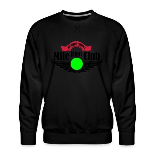mile high club - Mannen premium sweater
