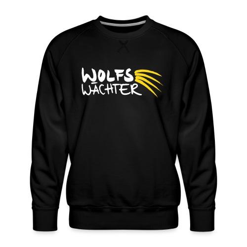 WolfsWächter - Männer Premium Pullover