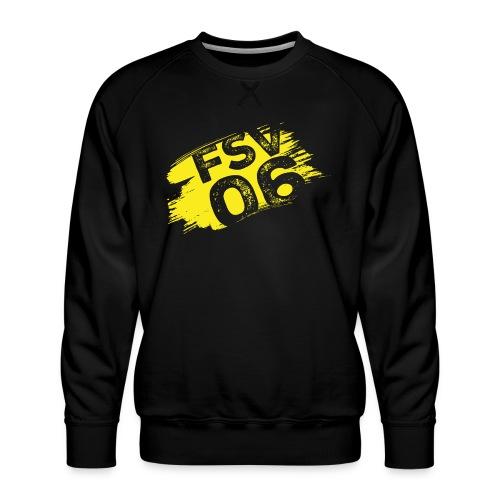 Hildburghausen FSV 06 Graffiti gelb - Männer Premium Pullover
