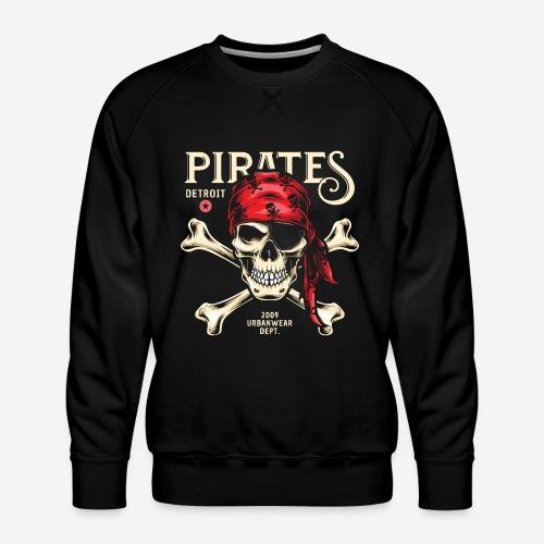 Piraten Urban Wear Sportswear - Männer Premium Pullover