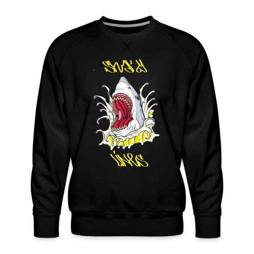 Gr8 butter shark - Men's Premium Sweatshirt