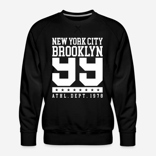 New York City Brooklyn - Männer Premium Pullover