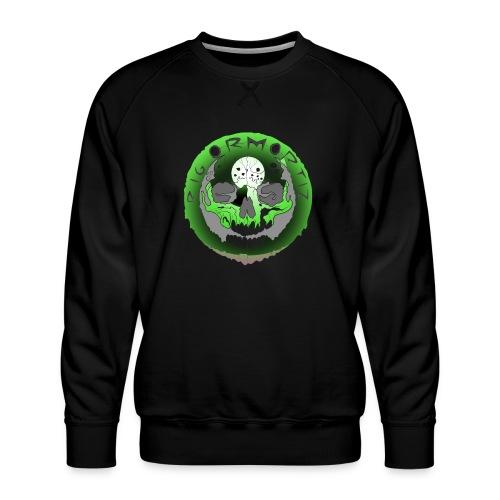 Rigormortiz Metallic Green Design - Men's Premium Sweatshirt