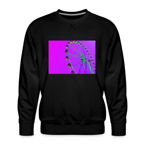 Trippy Ferris Wheel - Mannen premium sweater
