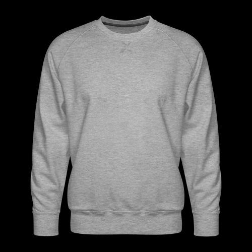 Circuit eagle White - Herre premium sweatshirt