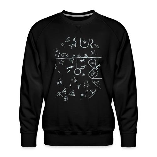 Runebomme - Premium-genser for menn