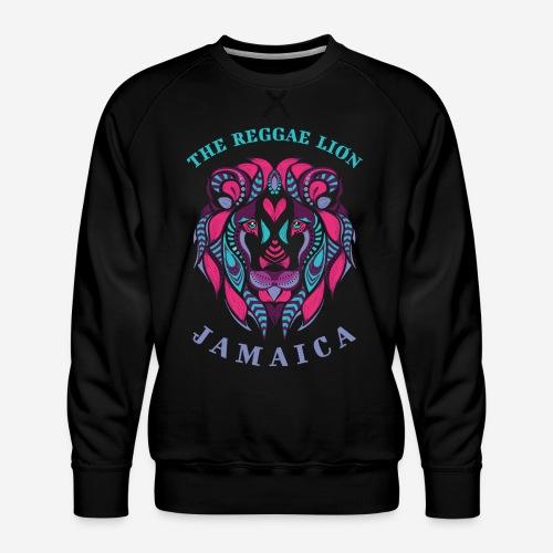 reggae lion jamaica - Männer Premium Pullover
