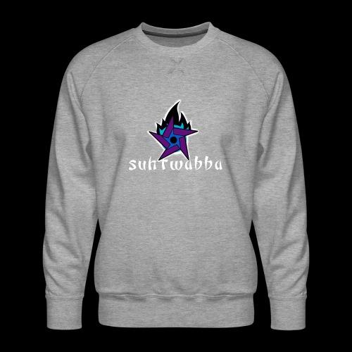 Suhtwabba - Miesten premium-collegepaita