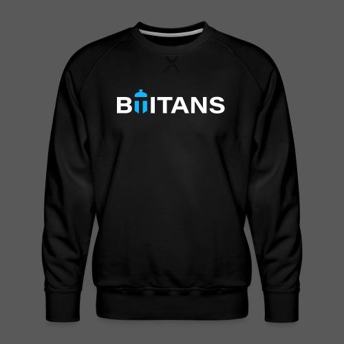 BTITANS Helmet Logo Print - Männer Premium Pullover