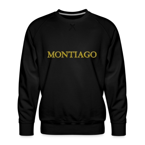 MONTIAGO LOGO - Men's Premium Sweatshirt