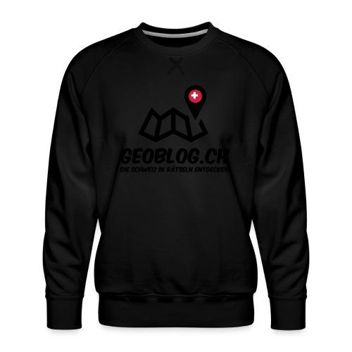 Logo+Schriftzug-hoch - Männer Premium Pullover