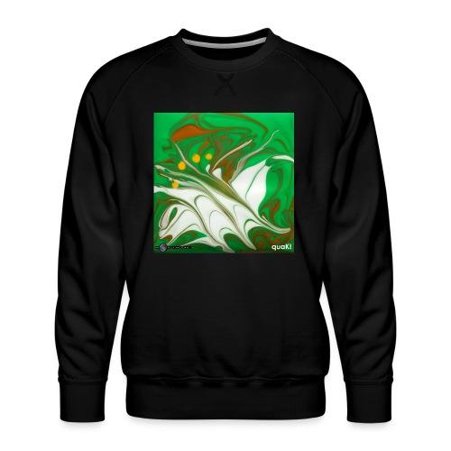 TIAN GREEN Mosaik CG002 - quaKI - Männer Premium Pullover