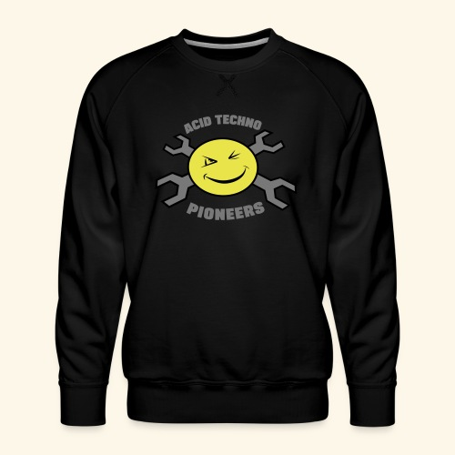 ACID TECHNO PIONEERS - SILVER EDITION - Men's Premium Sweatshirt