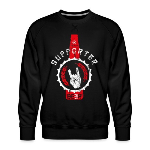 SUPPORTER   BEER - Männer Premium Pullover